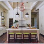 kitchen-cabinets-in-duluth-ga-cream-kitchen-blush-island-lime-seat cushions